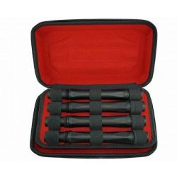 """Inception Designs Tournament Barrel Kit Autococker Carbon Fiber 14"""""""