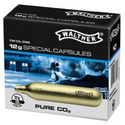 Walther 12g Co2 kapsules(10 stuks)